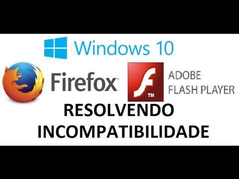 Windows 10 - Firefox e Flash Player (como resolver erro de ...