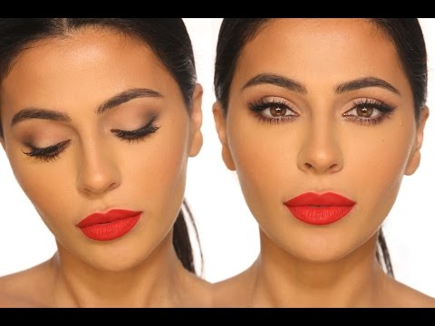 CLASSIC RED LIP MAKEUP TUTORIAL
