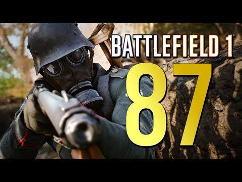Battlefield 1: 87 on Argonne - Stream Highlight (Xbox One X Multiplayer Gameplay)
