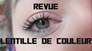 REVUE: LENTILLE DE COULEUR FRESHLOOK DE CONTACTLENSECANADA.COM