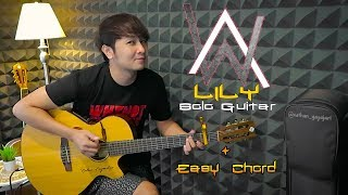 Download (Solo Guitar + Chord & Lyric) Lily - Alan Walker, K-3911 & Emelie Hollow | Nathan Fingerstyle Cover