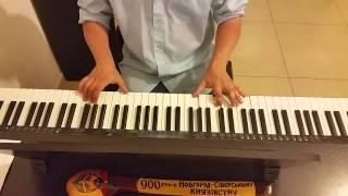 Жаворонок - тема из передачи В Мире Животных - исполнение на пианино кавер