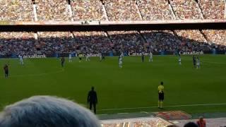 Lionel Messi Comeback Goal vs Deportivo Filmed by HeilRJ in Camp Nou 15/10/2016