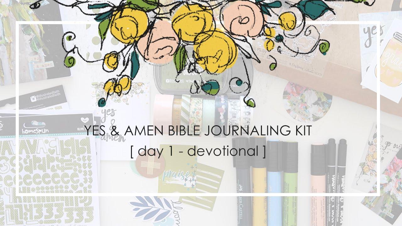 Yes & Amen Illustrated Faith Kit