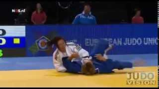 JUDO 2014 European Championships: Kim Polling (NED) - Valeria Ferrari (ITA)