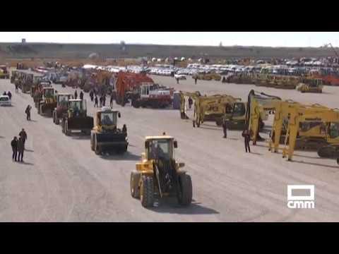 Subasta En Ocaña De Tractores, Excavadoras Y Maquinaria De Gran Tonelaje.
