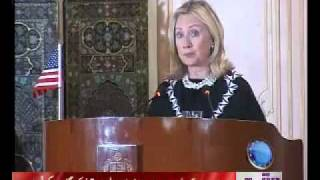 Hillary & Hina Press Conference News Package 22 October 2011