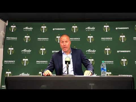 Portland Timbers coach Giovanni Savarese talks about 2-2 draw with Revolution