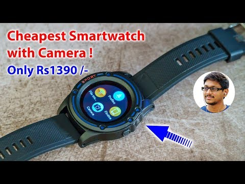 Budget Smartwatch With Camera Under 1500 Rs !!