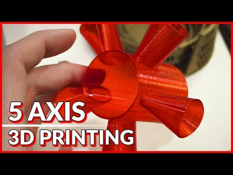 5 Axis 3D Printer/CNC - Ethereal Machines | CES 2018
