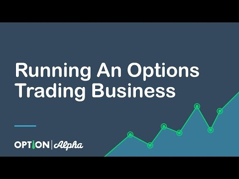 Running An Options Trading Business