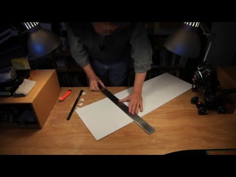 How To Make A Collapsible White Studio For Macro Photography