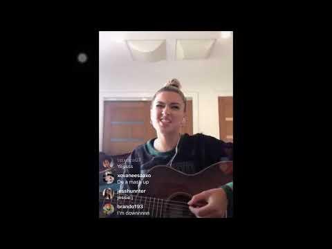 Tori Kelly sings let me love you by Mario instagram live