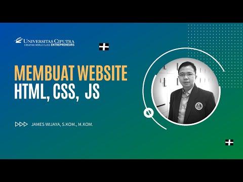 Week 02  - Membuat Website Dengan Menggunakan HTML, CSS, JS