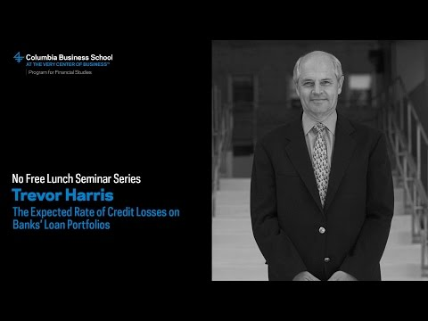 Trevor Harris: The Expected Rate of Credit Losses on Banks' Loan Portfolios