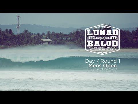 Lunad Sa Balod 2017 Surf Competition | Day 1 Highlights