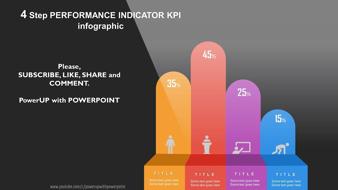 23 Create 4 Step Performance Kpi Infographic Powerpoint Presentation Graphic Design Free Template