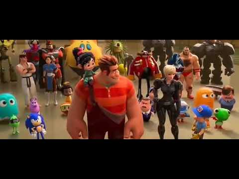 Wreck it ralph 2-Ralph Breaks the Internet * NEW game plugged in
