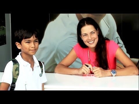 Tennis Players Meet Fans at Wimbledon 2012
