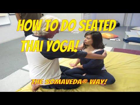 Seated SomaVeda® Thai Yoga Therapy Level One