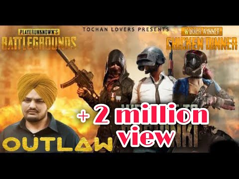 Outlaw Sidhu Moosewala  Official Video Pubg Gaming  Latest Punjabi Song 2019