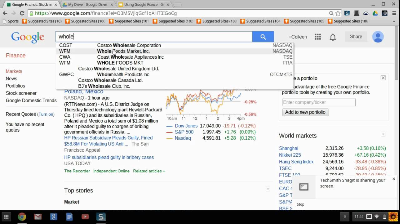 Google Finance Stock Market Quotes Google Finance Stock Market Quotes Cool Google Finance Stock