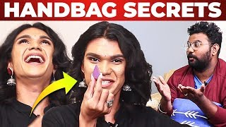 Shakshi Harendran Handbag Secrets Revealed by Vj Ashiq | What's Inside the HANDBAG