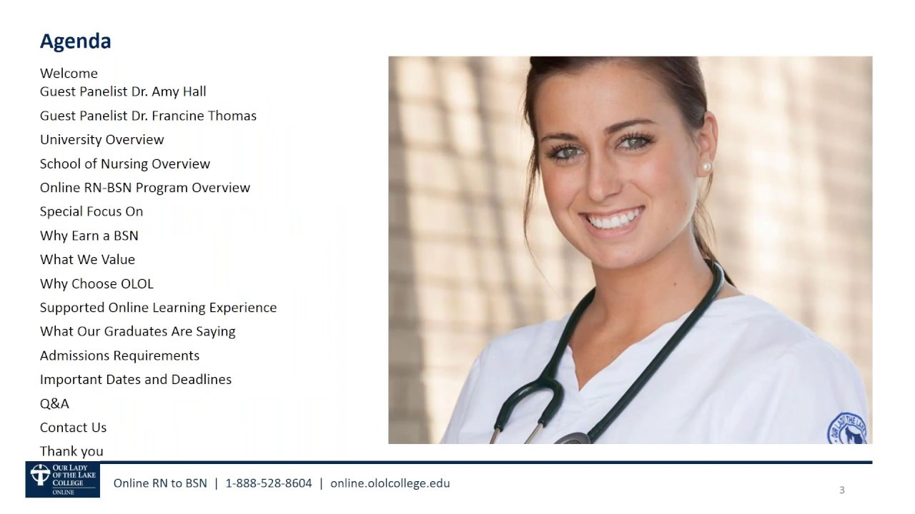 Our lady of the lake nursing school requirements