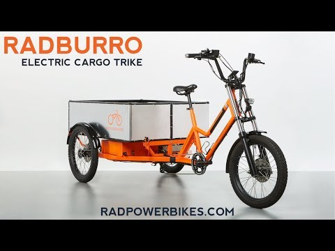 radburro electric cargo trike rad power bikes commercial. Black Bedroom Furniture Sets. Home Design Ideas