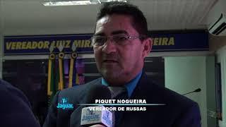 Piquet Nogueira requereu uma ambulância UTI, e solicitou poços para as comunidades russanas