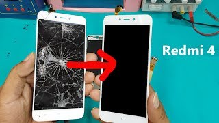 Xiaomi Redmi 4 LCD Screen +Touch Screen Digitizer Replacement || Redmi 4 Display Replacement thumbnail