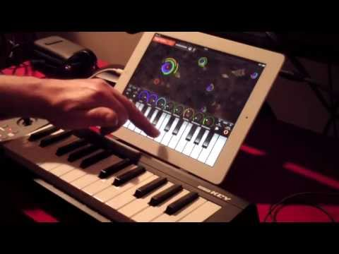 Novation Launchkey and Launchpad sync test for iPad