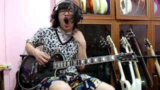 แป๊ะ Syndrome - Between Angels And Insects Papa Roach Guitar Cover