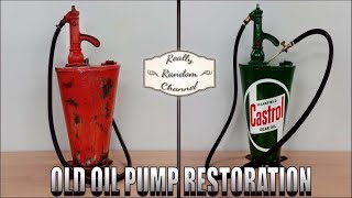 Old Gear Oil Pump Restoration - BAELZ 6G