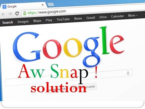 Fix `Aw, Snap!` page crashes and other page loading errors
