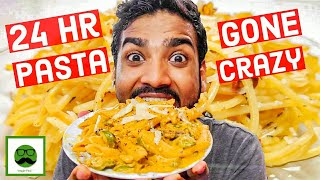 I only ate Pasta for 24 hours Food Challenge Pasta Recipe  Veggie Paaji