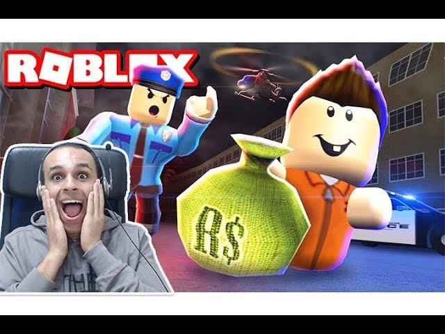 سرقت اكبر بنك مصرى فى العالم لعبة roblox !!😱💲