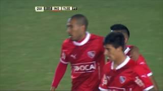 Gol de Vera. Quilmes 0 - Independiente 2. Fecha 16. Primera División 2016.