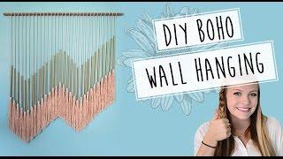 Diy Boho Wall Hanging // Pinterest Inspired