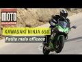 Kawasaki Ninja 650 : beaucoup plus dynamique