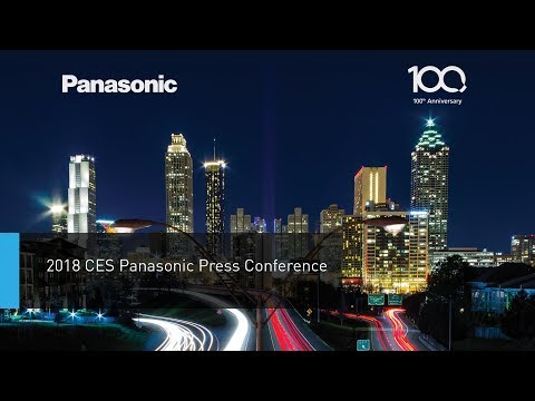 CES 2018 Panasonic Press Conference