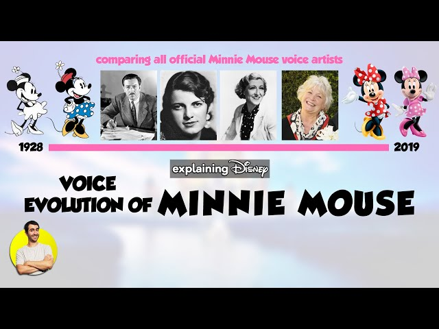 Voice Evolution of MINNIE MOUSE Over 91 Years (1928-2019) Explained