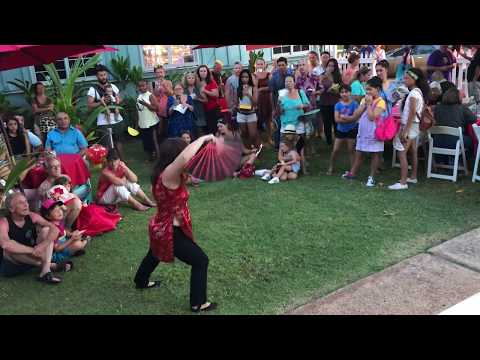 Maui Chinese Martial Arts Kung Fu Demonstration And Fan Set
