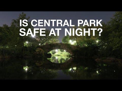 Is Central Park Safe at Night?