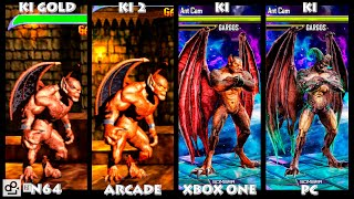 Killer Instinct GARGOS Graphic Evolution 1996-2016 | N64 ARCADE XBOX ONE PC | PC ULTRA