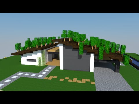 Minecraft Tuto Maison Moderne Facile A Faire By Defroi