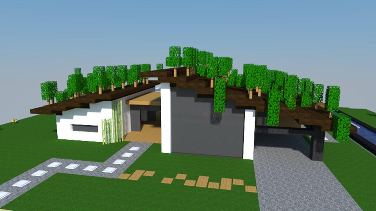 Construire Une Maison Moderne Dans Minecraft. Construire Une Maison ...