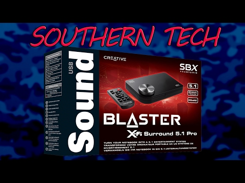 Southern Tech - Creative Sound Blaster X-Fi Surround 5.1 Pro