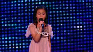 Arisxandra Libantino stuns singing 'One Night Only' - Week 1 - Auditions _ Britain's Got Talent 2013