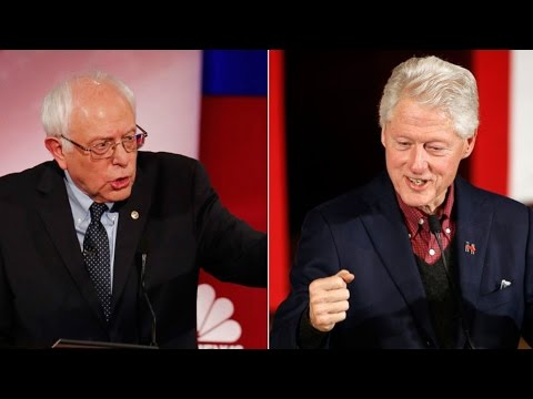 "Bill Clinton: Dems Shouldn't ""Be Simply The Party Of Bernie"""